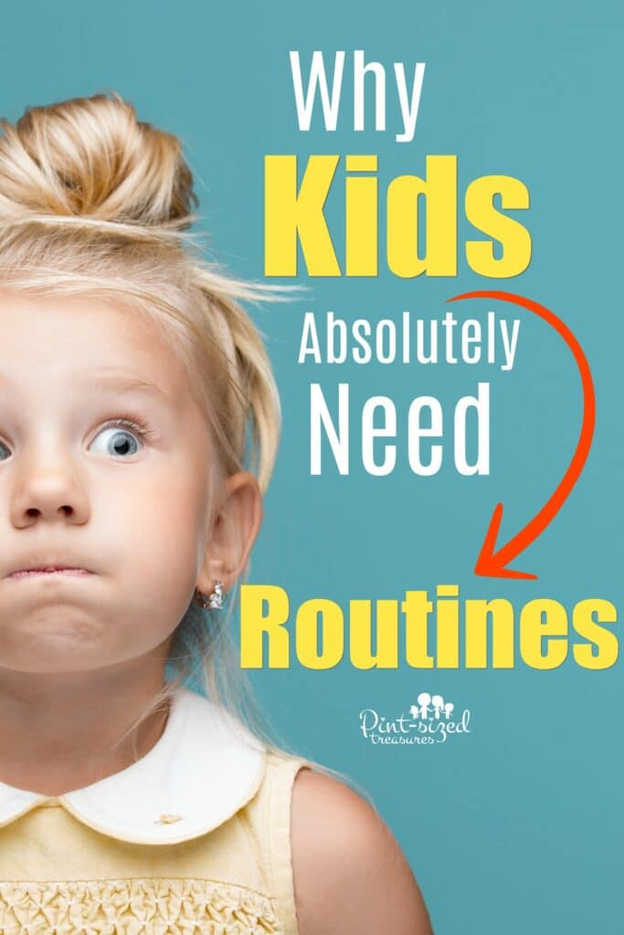 Find out why kids absolutely need routines