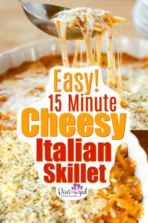 Easy 15 minute Italian skillet