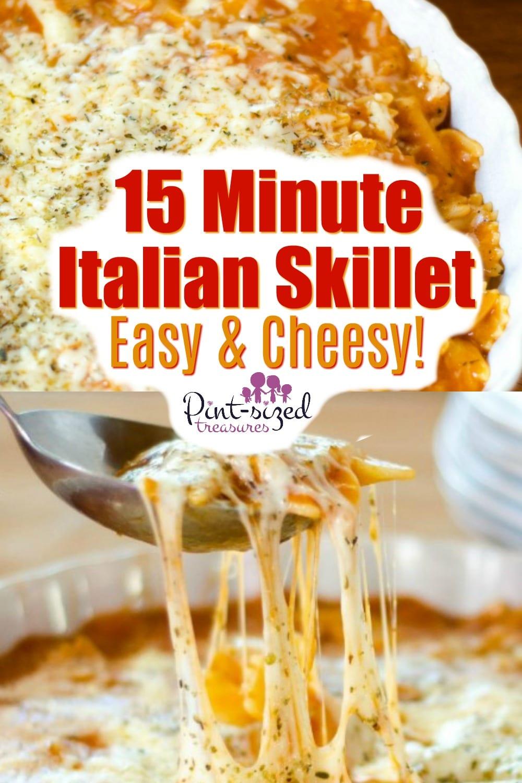 easy italian skillet