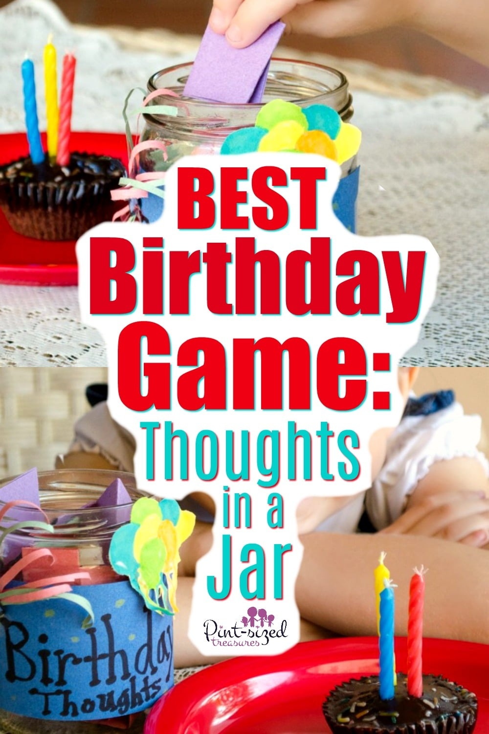 Best birthday game called Thoughts in a Jar