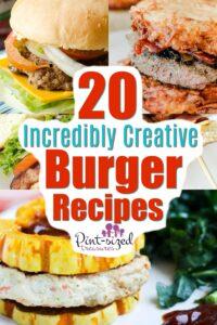 Incredible Creative Burger Recipes