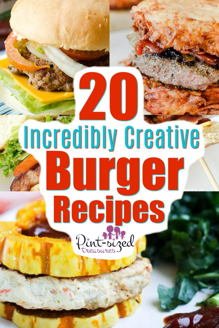 Incredible Creative Burger Recipes