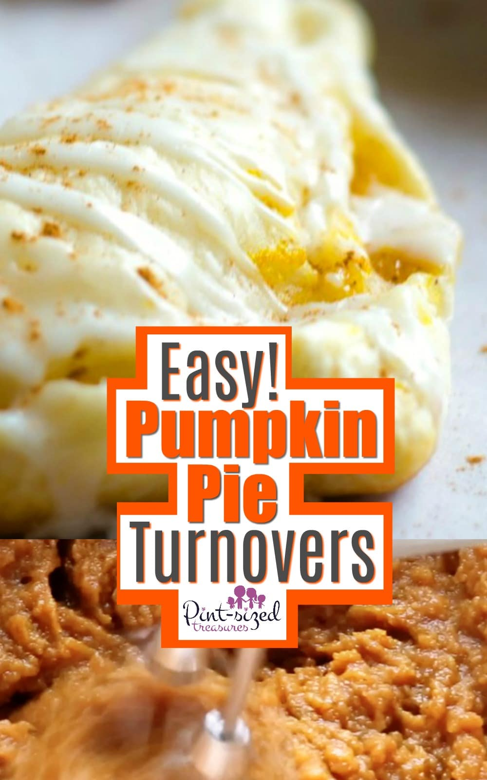 Easy Pumpkin Pie Turnovers Recipe