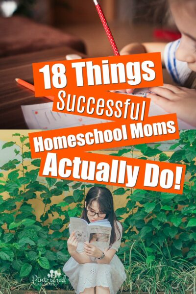 Things Successful Homeschool Moms Actually Do