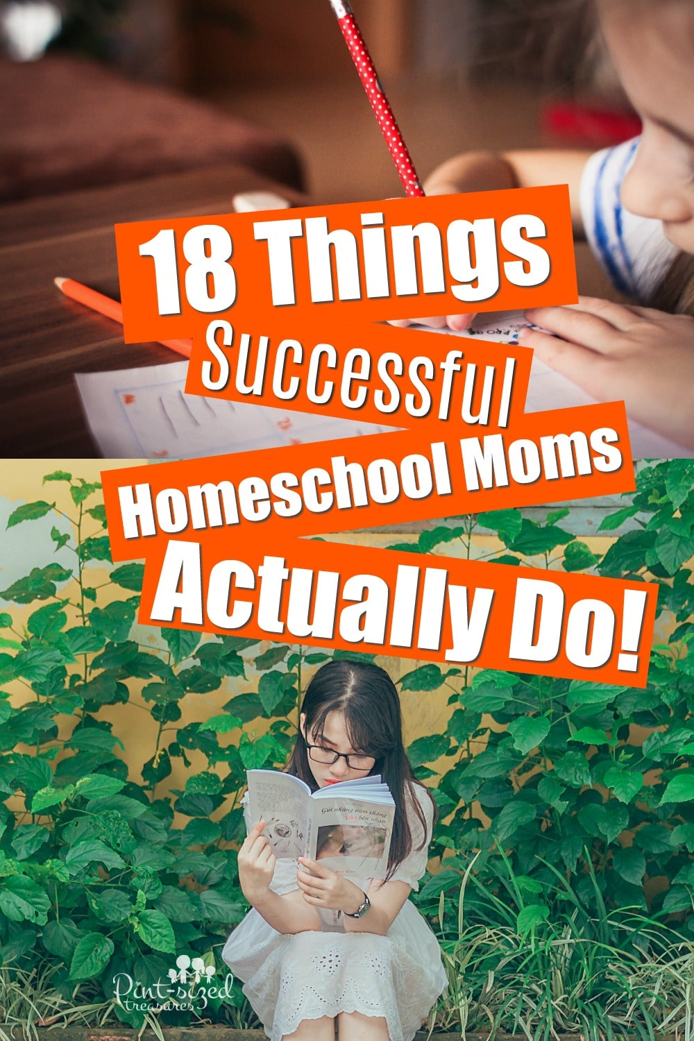 18 Things Successful Homeschool Moms Actually Do!