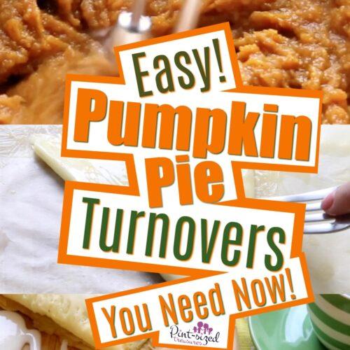 Pumpkin Pie Turnovers Recipe