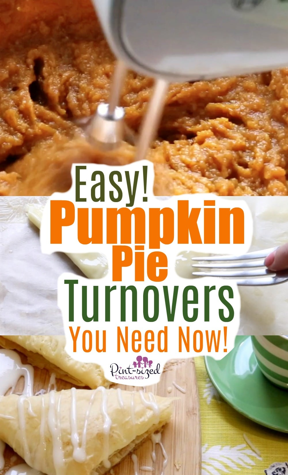 How to Make Pumpkin Pie Turnovers