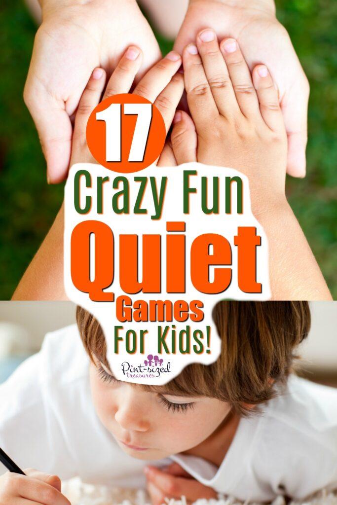 quiet games for kids