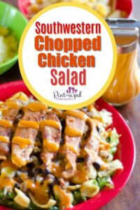 Southwestern Chopped Chicken Salad Recipe
