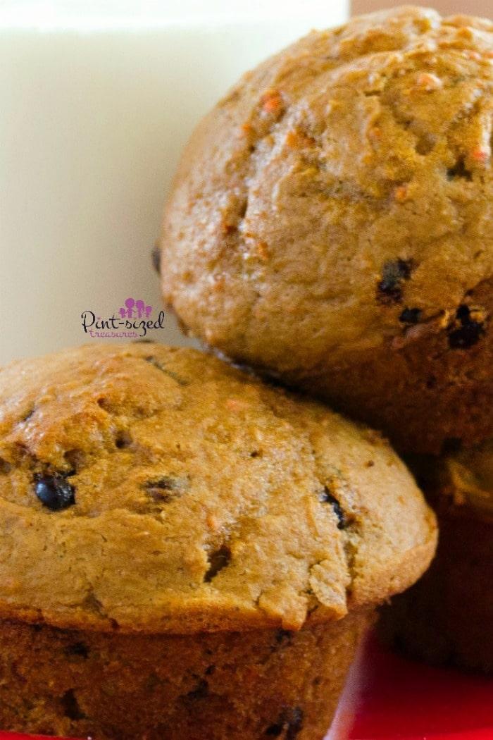 Easy cake mix pumpkin muffin recipe