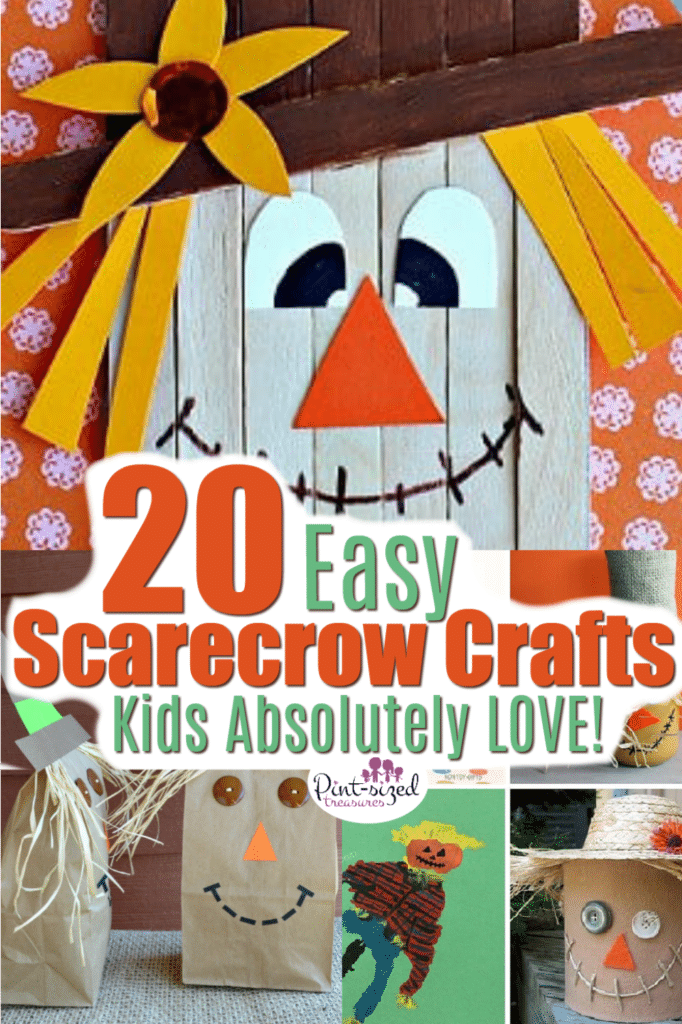 easy scarecrow crafts kids love