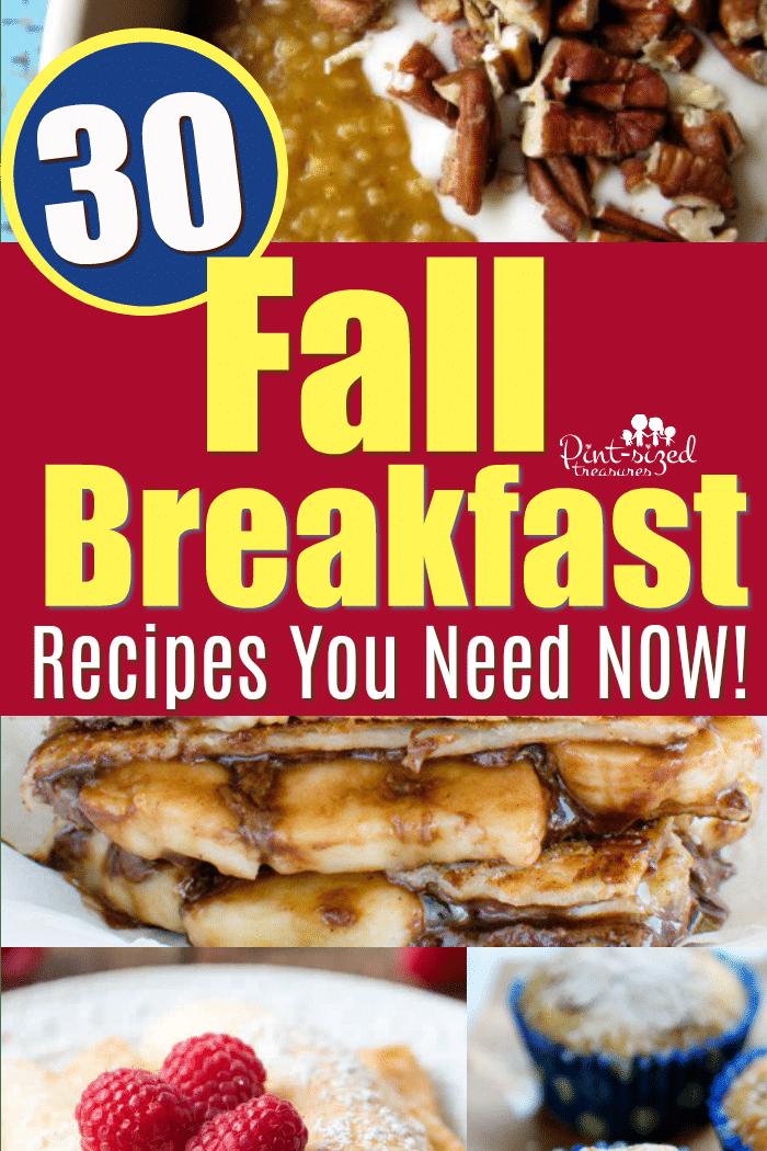 Fall Breakfast Ideas Everyone Will Love
