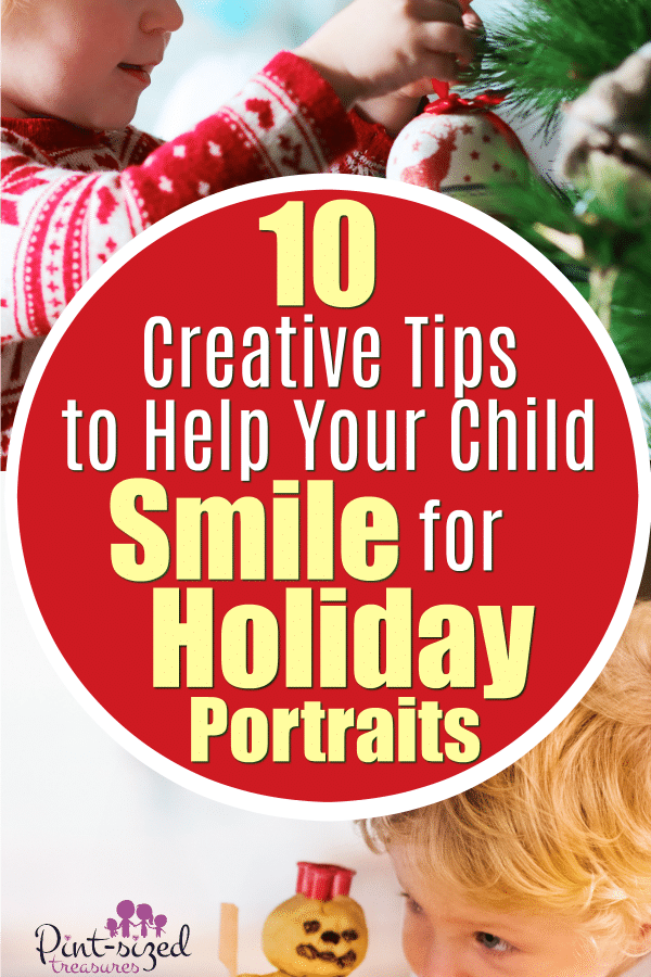 Creative tips to help kids have an awesome, holiday portrait session