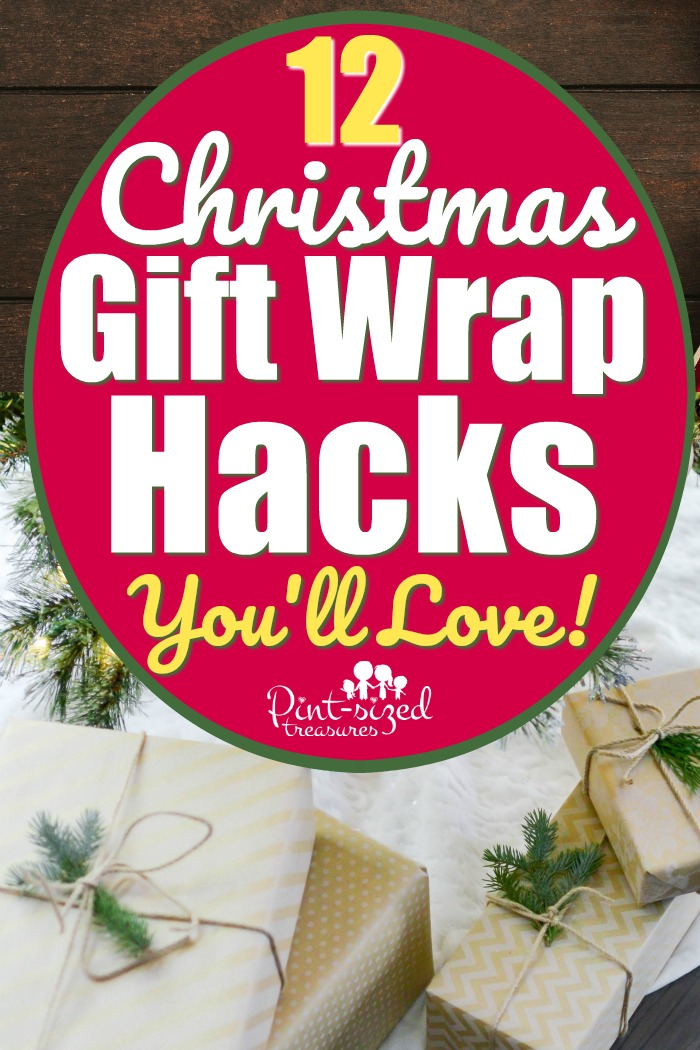 Christmas Gift Wrapping Hacks