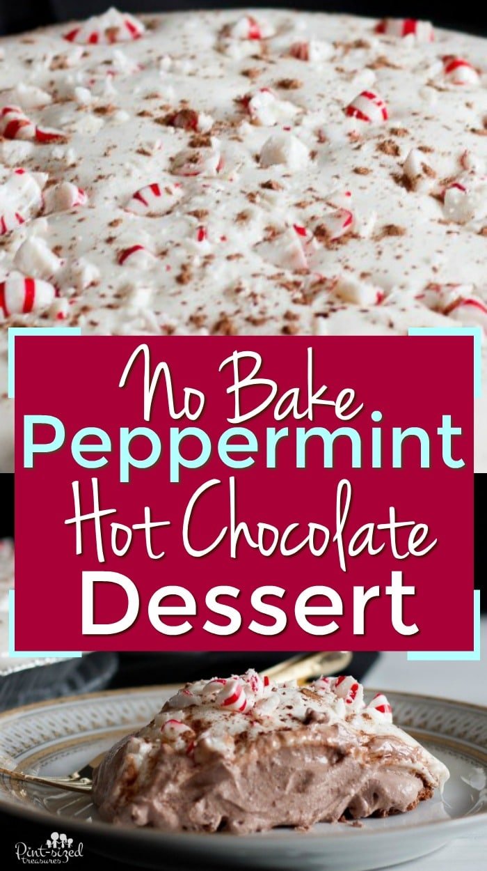Easy Peppermint Hot Chocolate Dessert Recipe