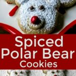 Polar Bear Cookies for Christmas