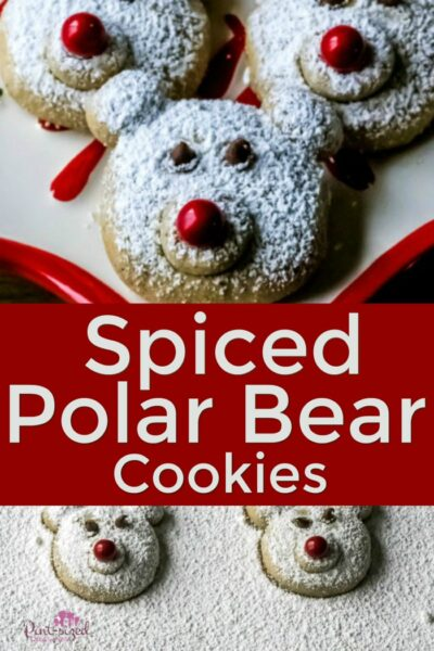 Polar Bear Cookies for Christmas