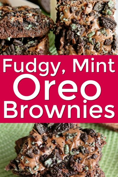 Fudge Mint Oreo Brownie Recipe