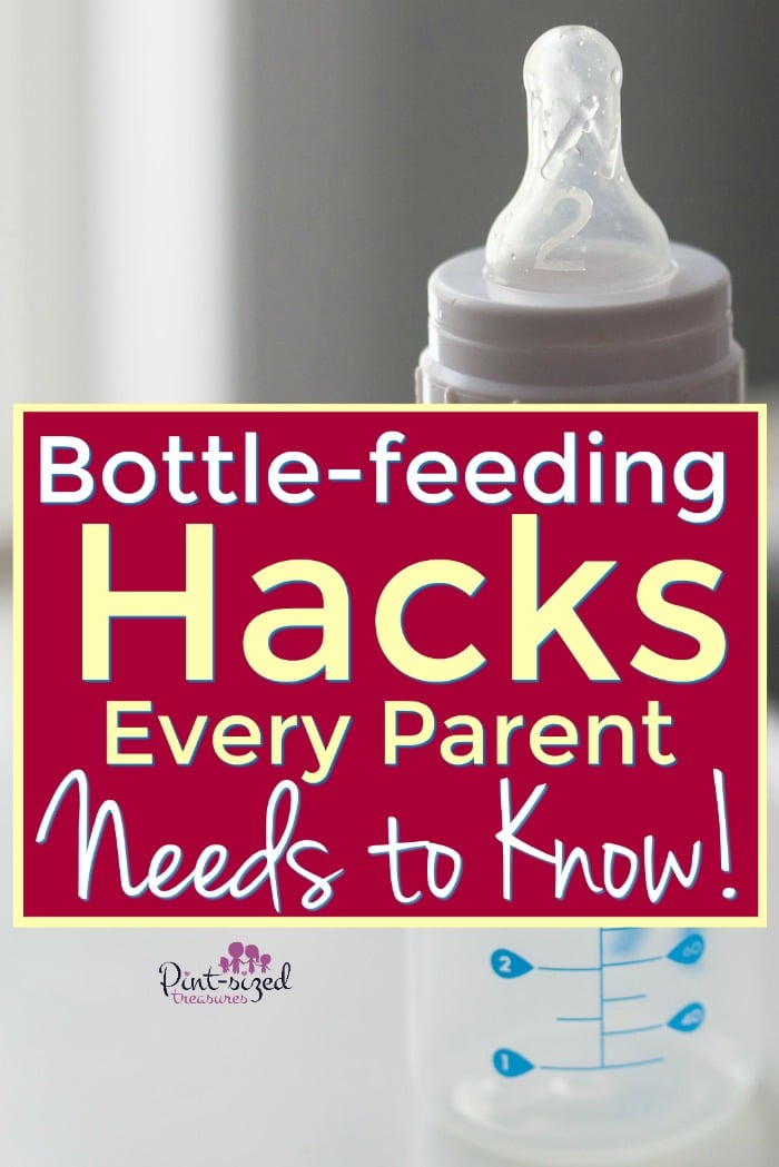 bottle feeding hacks parents need to know