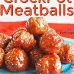 Crock pot sweet and spicy meatballs recipe