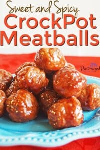 Crock pot sweet and spicy meatballs recipe