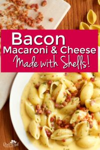 Easy Bacon Macaroni and Cheese