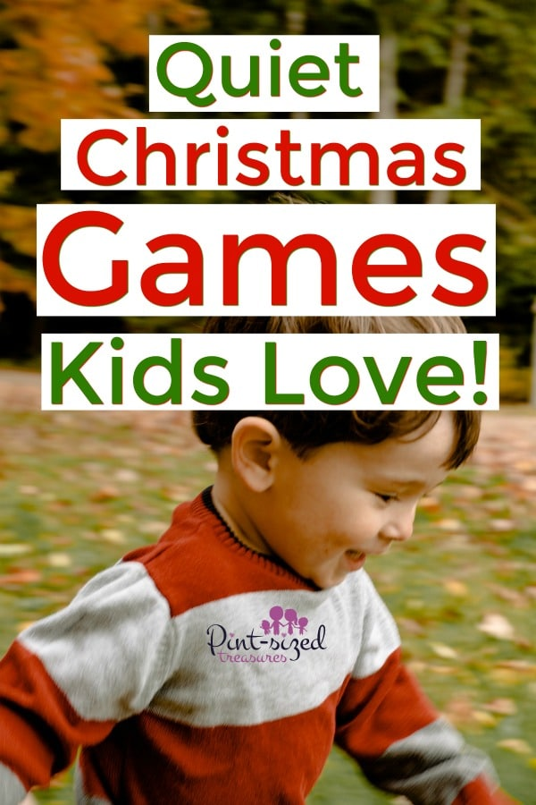 10 Christmas Quiet Games for Kids