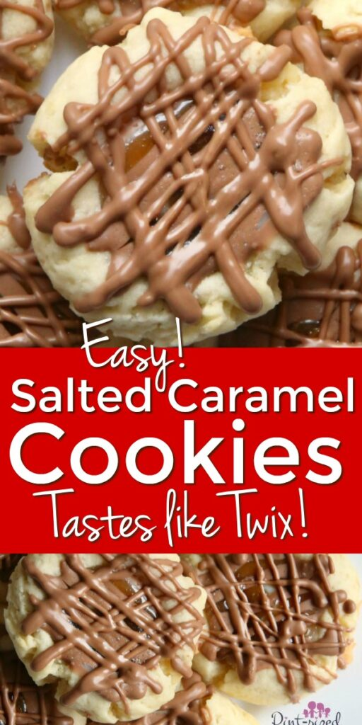 Salted Caramel Cookie Recipe