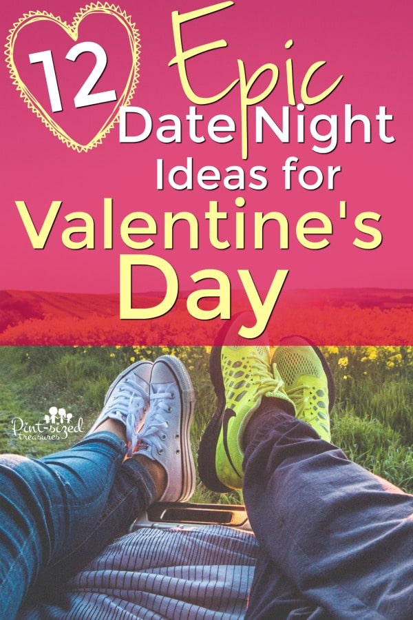 At home date night ideas for Valentine's Day