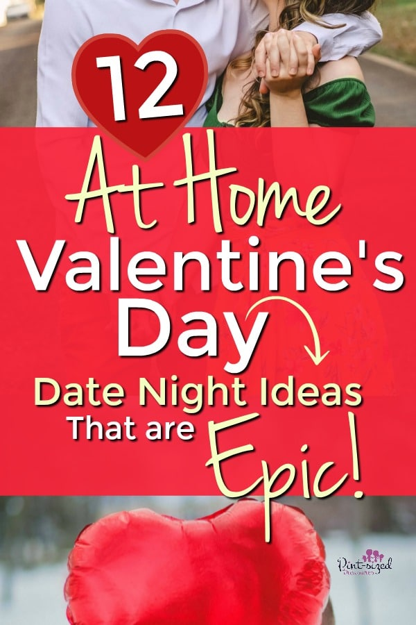 Valentine's date night ideas that are at-home date nights