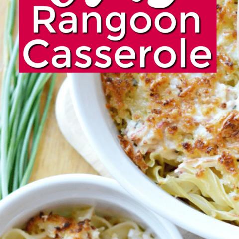 Crab Rangoon Casserole Recipe