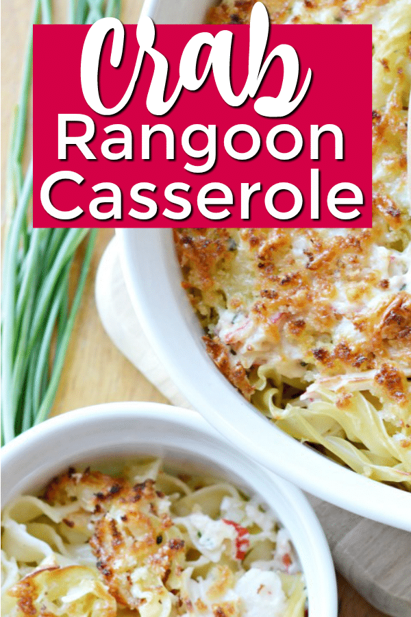 Crab rangoon casserole recipe