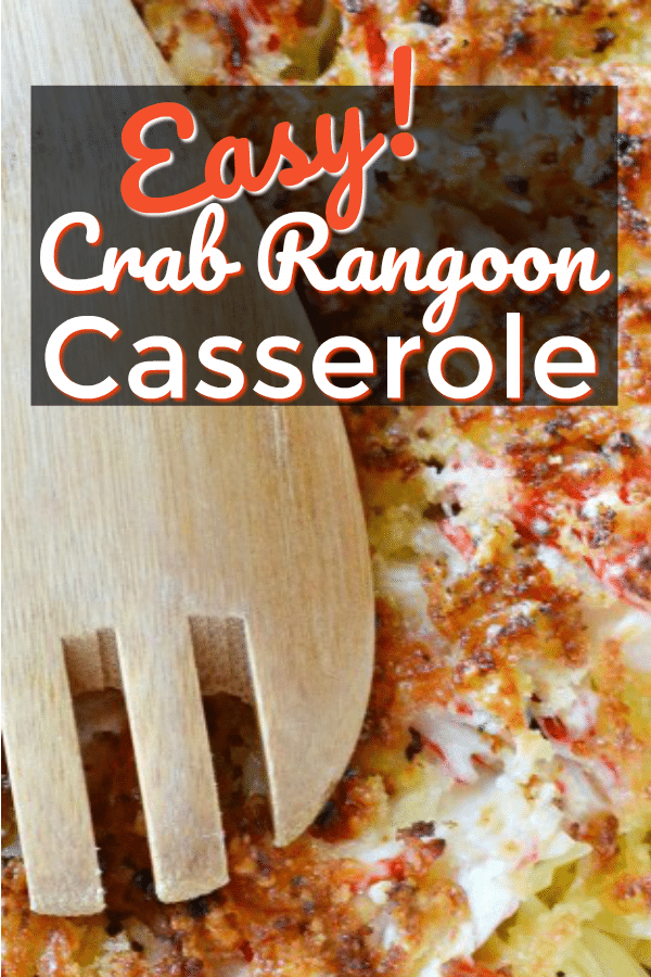 Baked Crab Rangoon Casserole