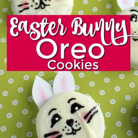 Easter Bunny Oreo Cookies