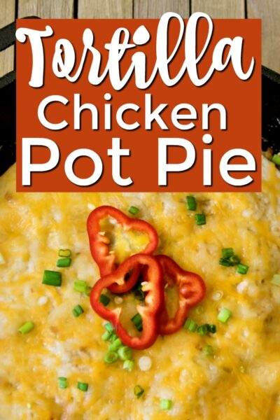 Chicken Tortilla Pot Pie