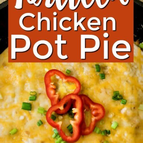 Chicken Tortilla Pot Pie