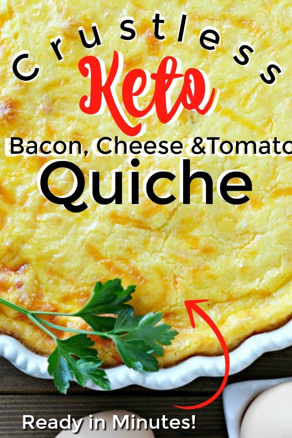 The BEST Crustless Quiche