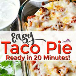Easy Taco Pie Recipe