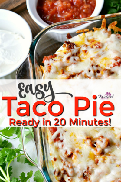Easy Taco Pie Recipe