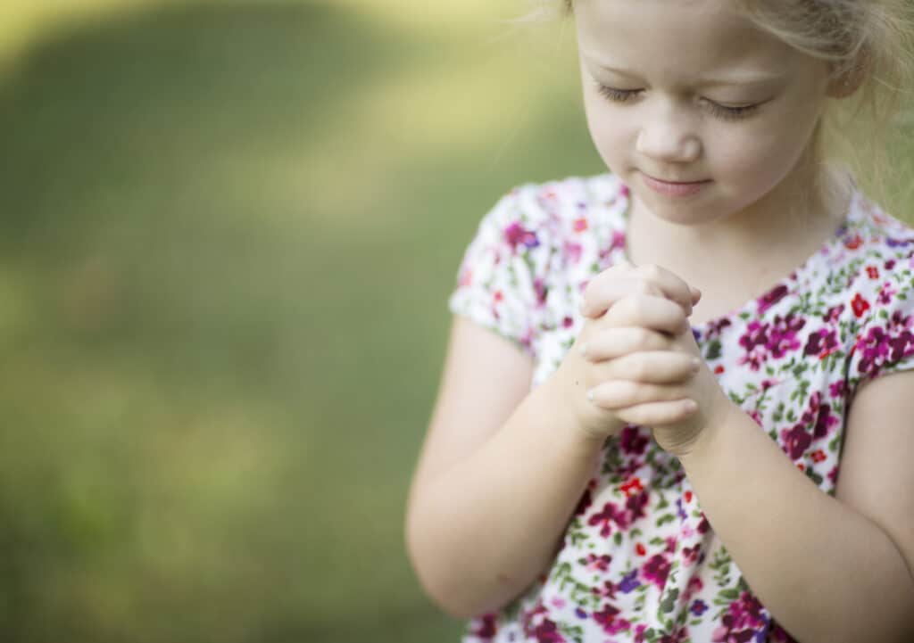 Start a prayer club with kids