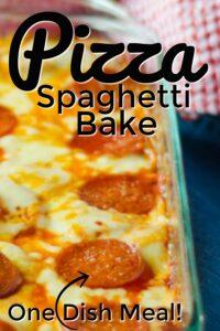 Pizza Spaghetti Bake Recipe