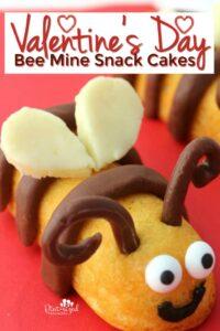 Valentine's Day Bee Mine Cakes