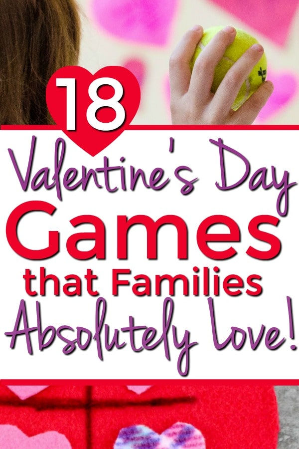 18 Valentine's Day Games for Families