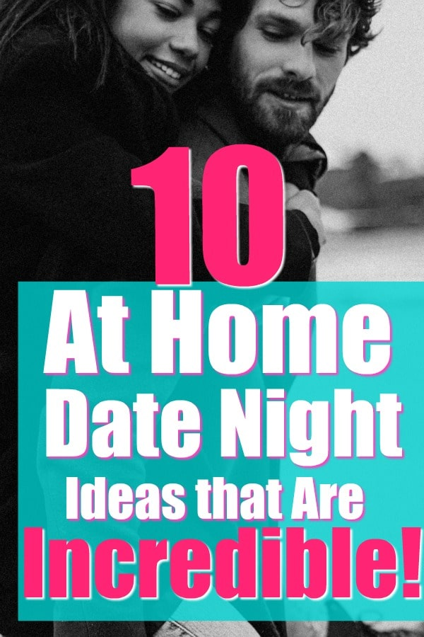 romantic at home date night ideas