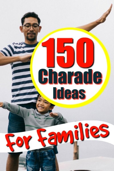 charades ideas