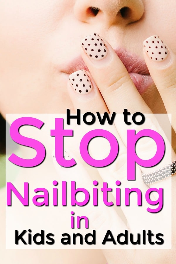 stop nailbiting in adults and kids