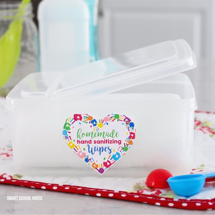 hand sanitizer recipe that's homemade