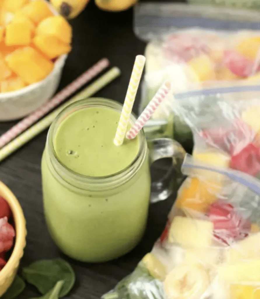 freezer friendly smoothie recipe