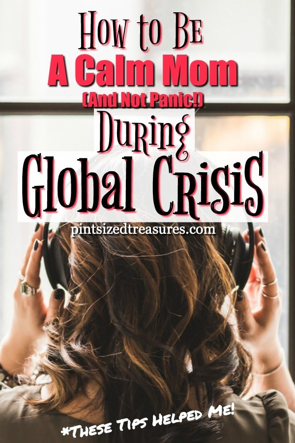 calm mom during crisis