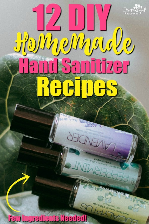12 DIY Hand Sanitizers You Should Try!